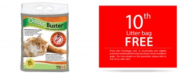 10th Odourbuster litter bag free